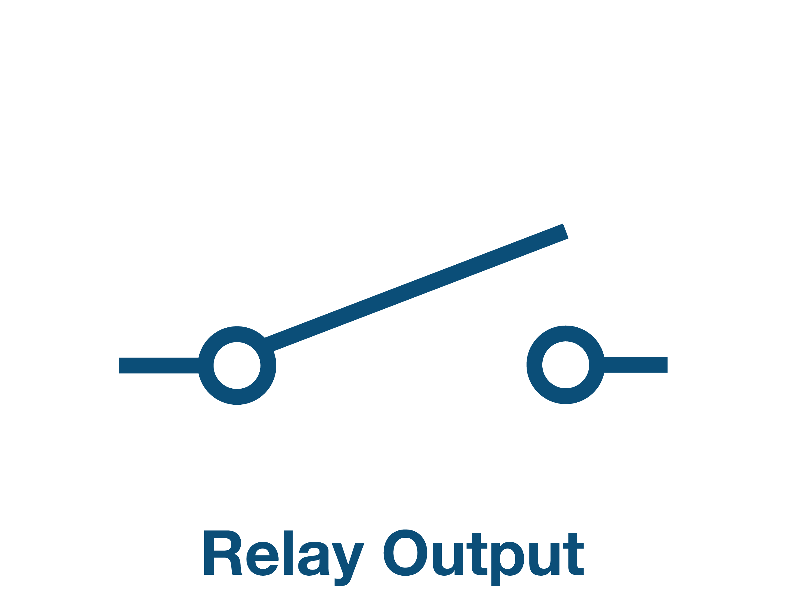 Relay Outputs x 3